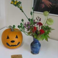 季節の花とティータイム