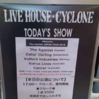 The Agonist at 渋谷CYCLONE