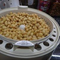 海外でミントの葉で納豆作り。自家製「ハーブ納豆作り」。納豆を使わない第3弾目。