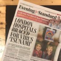 イギリスでは若い人のコロナ感染が多々あり、報道を見る度にそわそわしています。