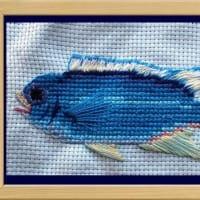 『一魚一会』刺繍展の開催:巣ごもり美術館