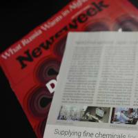 米雑誌『Newsweek』に弊社代表・春日孝之のインタビューが掲載されました