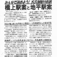 宮本市長は大久保駅の地平駅を独断で決めるな!!