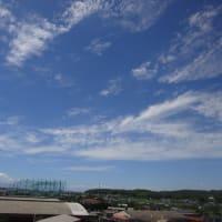 病室から見た雲