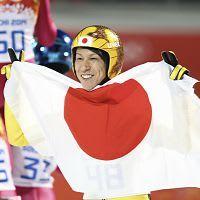 41歳葛西、悲願の銀…ジャンプ日本4大会ぶり