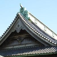 栄山題経寺(柴又帝釈天)本堂北面 二重懸魚(にじゅうげぎょ)
