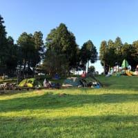 横岳の自然とキャンプ風景
