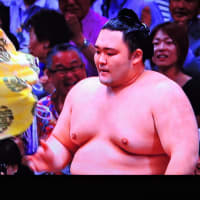 5/26 朝乃山 優勝しました すごい懸賞金