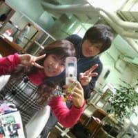 いつもの美容院へ(*^^*)