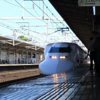 700系「こだま636号」 豊橋駅到着 (2019年9月)