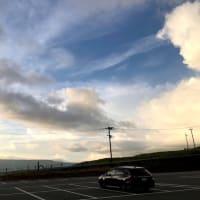 今日はオンラインワークと、それから阿蘇山行ったり