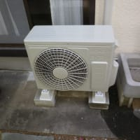 桶川市でエアコン2台入れ替え工事