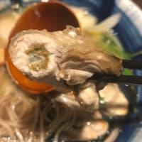 牡蠣もちそば定食