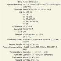 産業用SBC PM-LX (PCI-104)