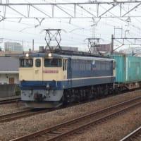 EF65-2089 大型コンテナ牽引(4072レ) 【尻手駅:南武支線】 2021.10.19