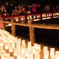 一年に一夜だけの幻想的な世界!約6,000本の灯りが滝道を彩る「みのおキャンドルロード」が開催されます!