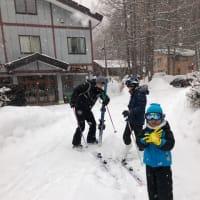 久しぶりのスキー