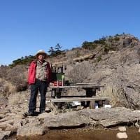 えびの岳のレットさんと、雪のえびの岳と大浪池に登る。