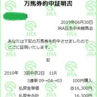 競馬 CBC賞&ラジオNIKKEI賞予想(2019)