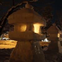上杉雪灯篭まつり~祭り当日