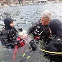 11月17日(日)PADIオープンウォーター海洋講習!海好きの女の子は、元気いっぱい!むちゃ上手い!