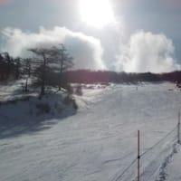 雪上で舞ってみました┗(`ー´)┓