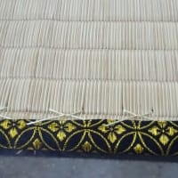 床の間の畳の製作