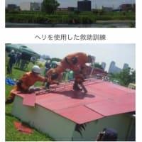 ゲリラ豪雨の季節を控え、本格的な「水防訓練」を体験してみませんか?6月8日(土)多摩川左岸河川敷にて、参加費無料、申し込み不要、どなたでもOKです!