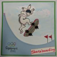 オリンピックと同時開催、戯画リンピック