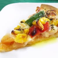 \(^o^)/  カラフルなピザ