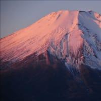 二十曲峠からの紅富士~忍野村(回想)