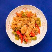 2020.09.10の夕食 鶏胸肉と野菜の煮込み(カレー風味)