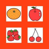 果物1(果物・野菜/ミニカット)