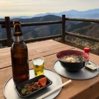 景信山 景信茶屋 青木さんまで蕎麦を食べに