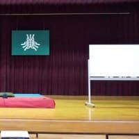 林家染太落語会in愛媛県川内中学校 マーケティングと笑いの絶対公約数😀