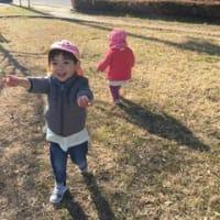 0,1歳児さんのお散歩