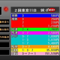 第86回日本ダービー・検討