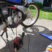 久しぶりにバイクの整備