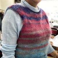 今月の編み物作品!