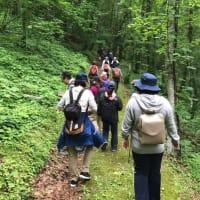 黒松内町 第二回森林療法体験会