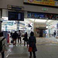 白い屋根新しき床歩く人/デッキ改修ほぼ終わりけり(川越駅東口)