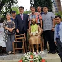 フィリピンに「平和の少女像」が新たに設置された