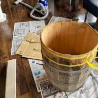 コーヒー樽の修繕