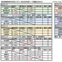 第30回愛知県中学生ラグビー大会情報