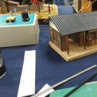 【再掲】 田舎の小駅の駅舎を作る
