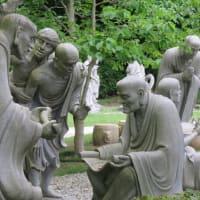 無量寿寺へ・・・五百羅漢公園