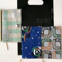 【mina perhonen】最近買ったものいろいろ。手ぬぐい&ワタリウム美術館の手帳