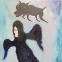 天使と黒い犬