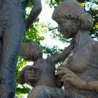 松田与一「望み」 東川町の野外彫刻(10)