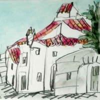 1834. カステロ・デ・ヴィデの町角